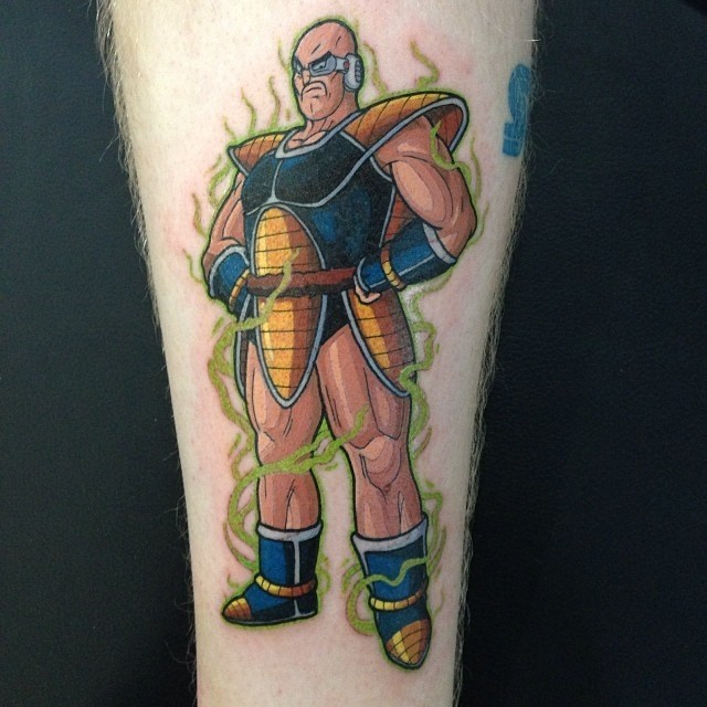 Dragonball Z Tattoo Zoo