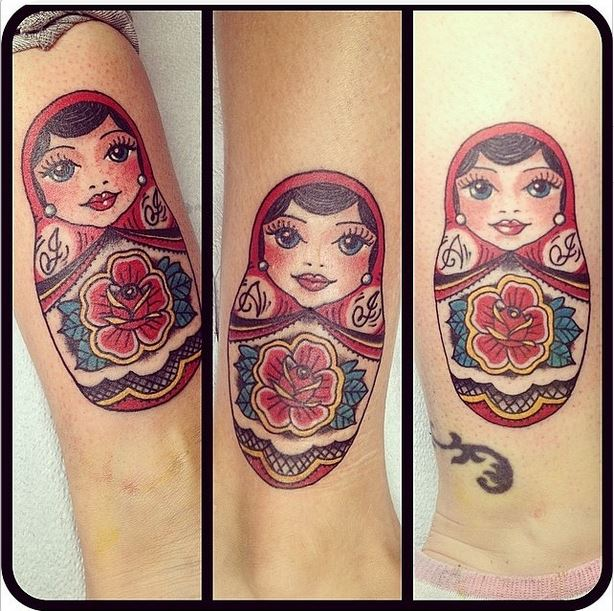 matroyshka tattoos