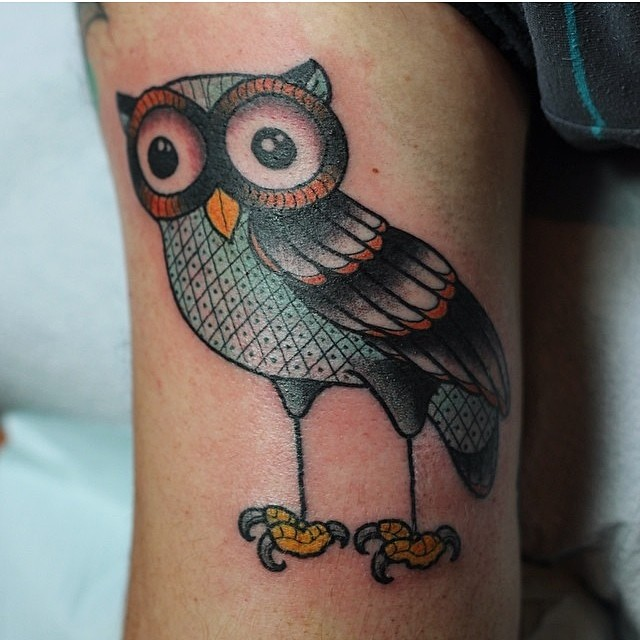 gerry owl tattoo