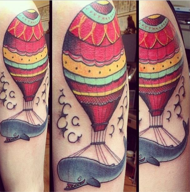 gerry kramer whale balloon tattoo