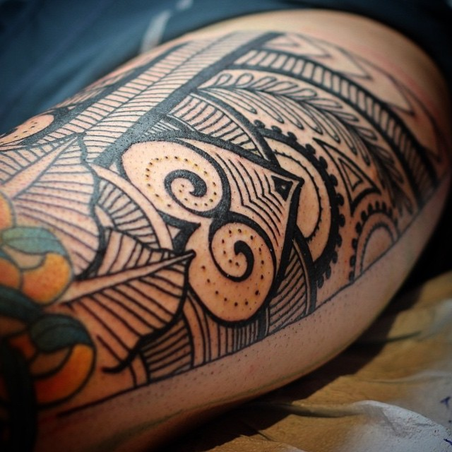 Lines And Dots Tattoo: Lines And Dots