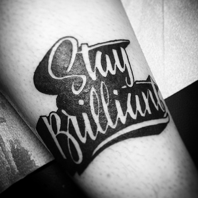 We are open 12-5! Come see us at 826 Fort Street! #staybrilliant (tattoo by @tamitattoos)
