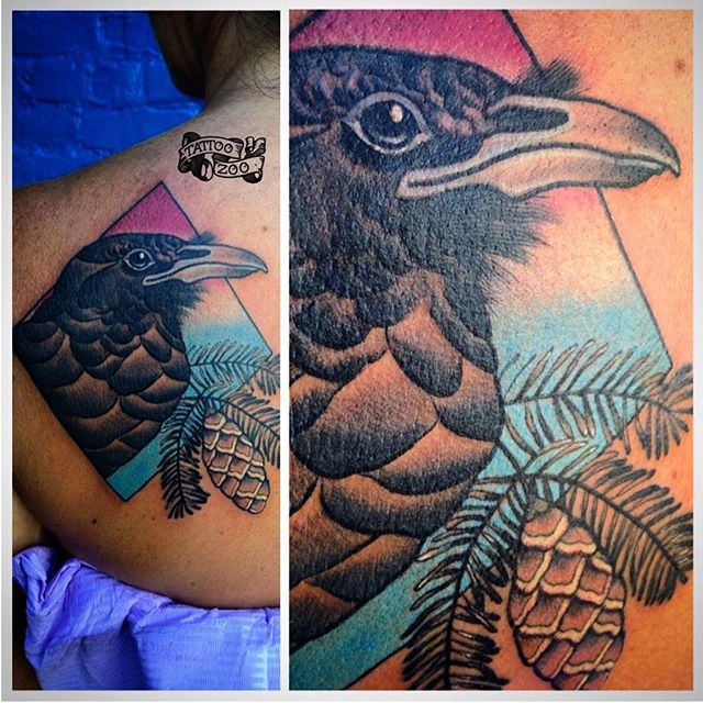 We are open 12-5 today!!!! (tattoo by @bold_and_classy)
