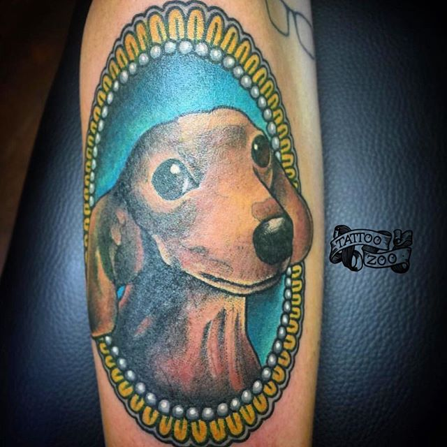 WOOF!! We are open 12-5 today!! Come see us at 826 Fort Street!! (tattoo by @gerrykramer)
