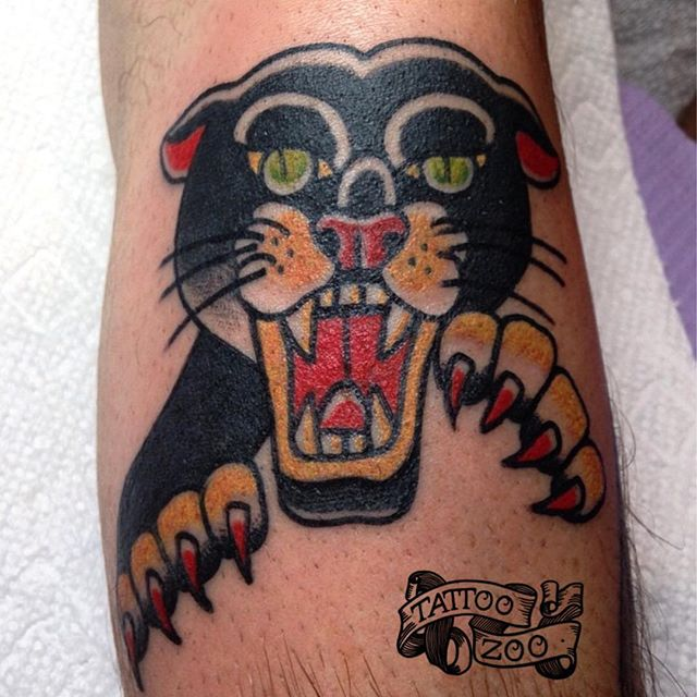 Meowwwww! We are open 11-FIVE pm. New winter hours. (tattoo by @bold_and_classy). Call 250-361-1952 to book.