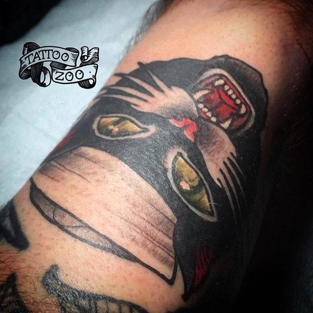 Happy cat in a hat #caturday!! (tattoo by @gerrykramer). Call 250-361-1952 to book.