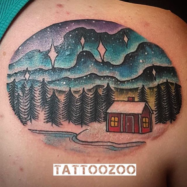 We are OPEN! Here til 6pm. Call 250-361-1952 to book. (tattoo by @gerrykramer)