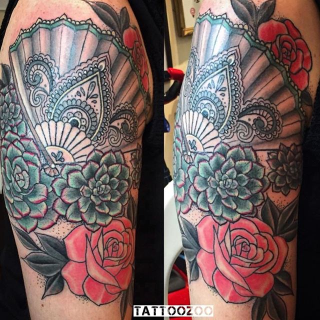 We are OPEN! Here til 5pm. (tattoo by @tamitattoos) 250-361-1952 to book.