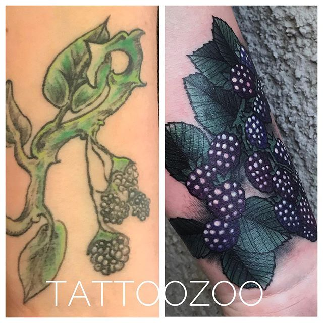 We LOVE to do fix-ups! Look at this gorgeous fix @marymadsentattoos did!! Call 250-361-1952 to book your free consultation!