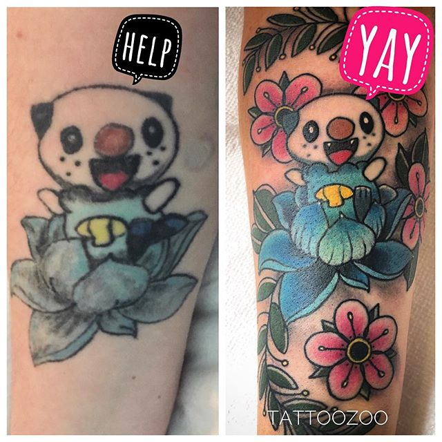WE LOVE TO DO FIX UPS!! This amazing transformation was done by @gerrykramer Don't hesitate to bring us your tired or poorly applied tattoos and we will fix them up to look like new (or better than new). You must have a consultation first - so call 250-361-1952 or visit us at 826 Fort Street to book a FREE consult. Once we see your tattoo - we can let you know what we can do to help. #yyjtattoo #yyj #victoriatattoo #victoriatattooartist