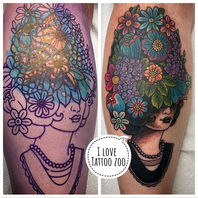 Hello. Do you have an old or poorly done tattoo that you no longer love? Wondering what you can do? What about a COVER UP?!! ..@gerrykramer loves to transform your tattoos from tired and sad to beautiful and dare we say GORGEOUS!!..Call 250-361-1952 to book a FREE consultation appointment with Gerry. ..Consults generally take 15-20 minutes where he will explain what you can do to transform your old tattoo into something you want to show off. 🥰 #weLOVEtattooingyou