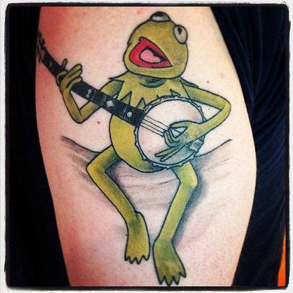 kermit tattoo
