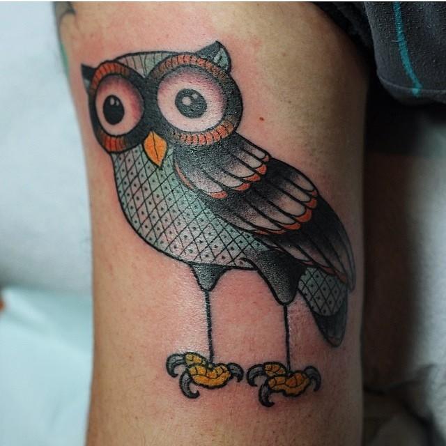 gerry owl tattoo