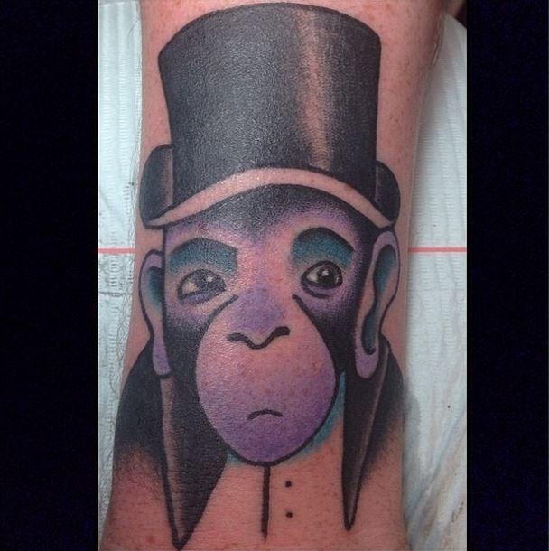 gerry kramer monkey tattoo