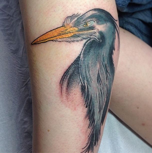heron tattoo gerry kramer