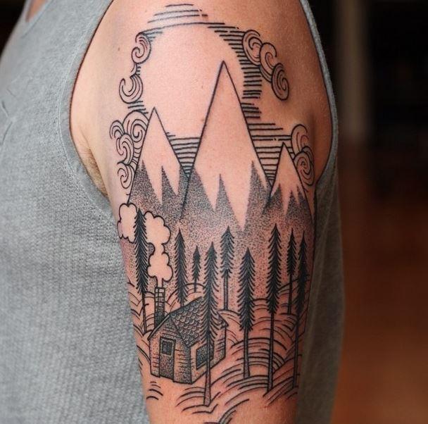 gerry mountain tattoo