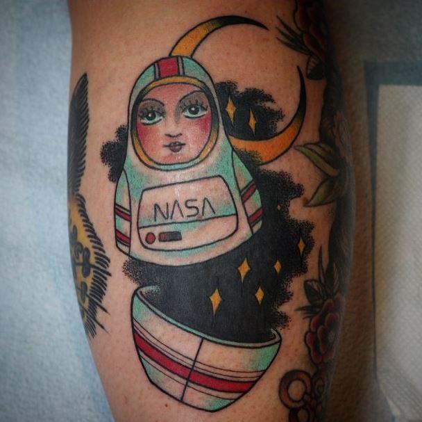 gerry astronaut matroyshka