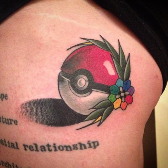 Killer tattoo by @prairietats