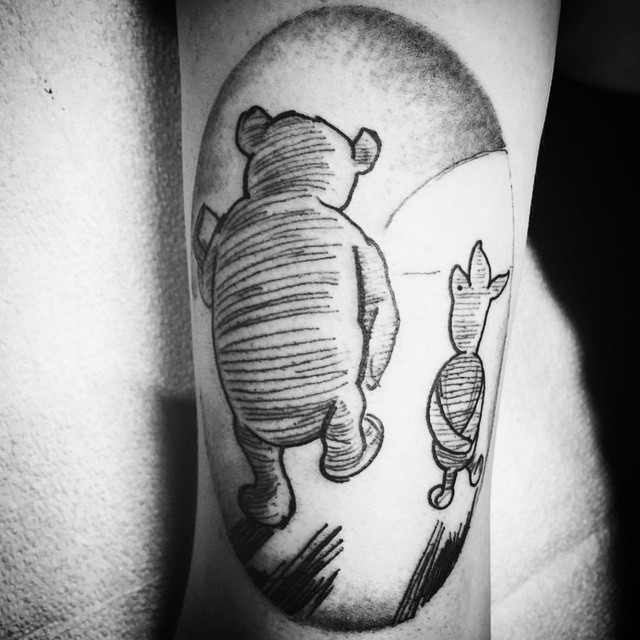 The things that make me different are the things that make me ME. -Piglet (tattoo by @gerrykramer)