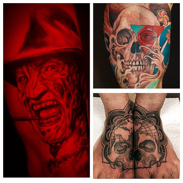 EXCITING NEWS!!! @davidmaiertattoos is joining the TZ team starting in May 17th. We are stoked!!! Call 250-361-1952 to book.