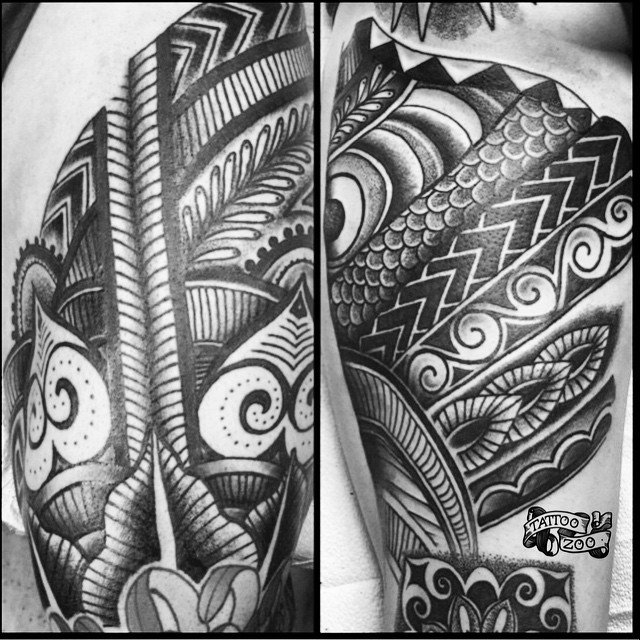 We are open 11-6 today... Come get tattooed! Call 250-361-1952 to book. (tattoo by @gerrykramer)