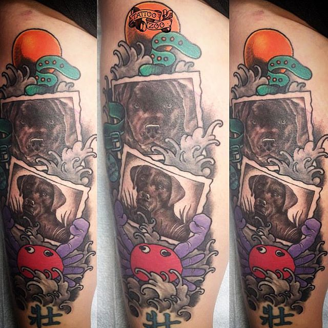 We are open til 6pm!! Come see us at 826 Fort Street. (tattoo by @gerrykramer)