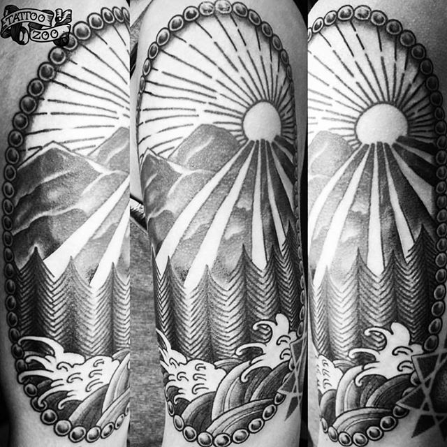 Good morning!!! We are OPEN!! (tattoo by @gerrykramer). Call 250-361-1952 or visit us at 826 Fort Street.
