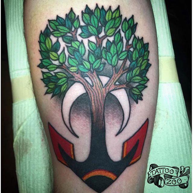 Tattoo by @gerrykramer Call 250-361-1952 to book. 🌳