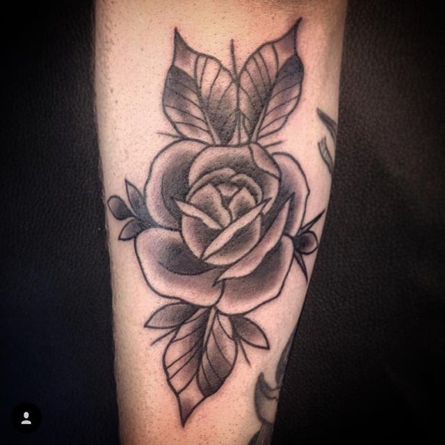 Here til 5pm!! (tattoo by @interstellarwhispers). Call 250-361-1952 to book.