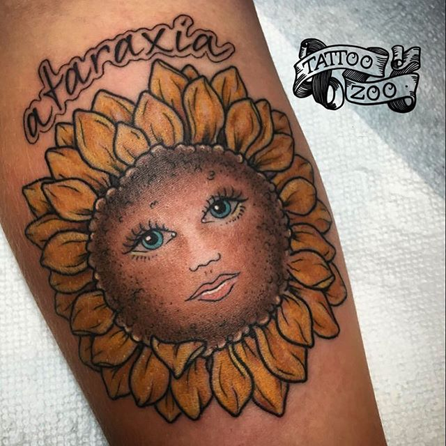 Look at that sweet face!!  (tattoo by @tamitattoos). Call 250-361-1952 to book.