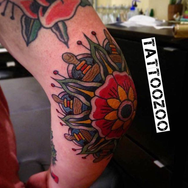 Elbows are swellbows! We are here til 6pm!! (tattoo by @davidmaiertattoos) Call 250-361-1952 to book.