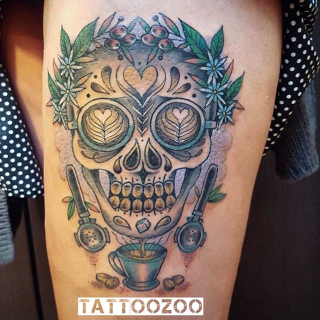 We are OPEN!! Here til 5pm. Walk-ins welcome. (tattoo by @interstellarwhispers) Call 250-361-1952 to book.