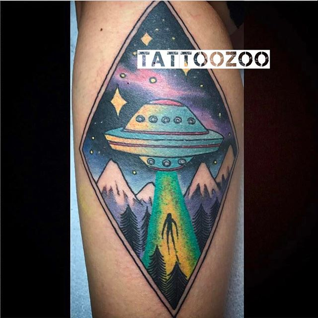 The truth is out there!!! We are open til 5pm. Come visit us at 826 Fort Street. (tattoo by @gerrykramer)