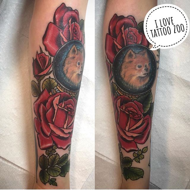 We are OPEN 11-5pm. (Tattoo by @gerrykramer) Call 250-361-1952 to book.