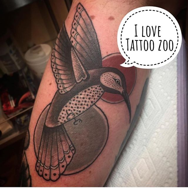 ‪Magical hummingbird done on Walk-in Wednesday by @tamitattoos Our walk-in day is EVERY Wednesday and we do first-come first-served!! #weLOVEtattooingyou ‬