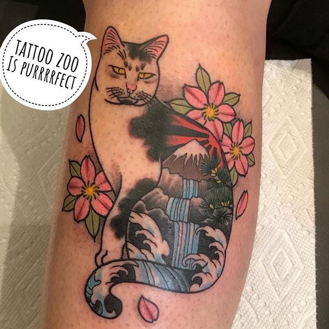 Looking for a purrrrrfectly fantastic tattoo?? Call 250-361-1952 and book a FREE consultation with @marymadsentattoos