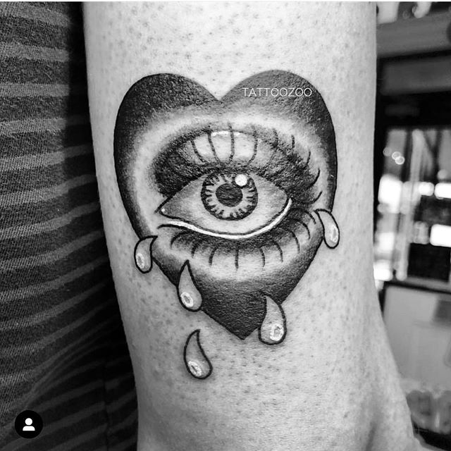 Don't be sad! We have time for walk-ins today!!! (tattoo by @mothershellytattoos) We are here 11-5pm. Call 250-361-1952 to grab some time or visit us at 826 Fort Street. 👁