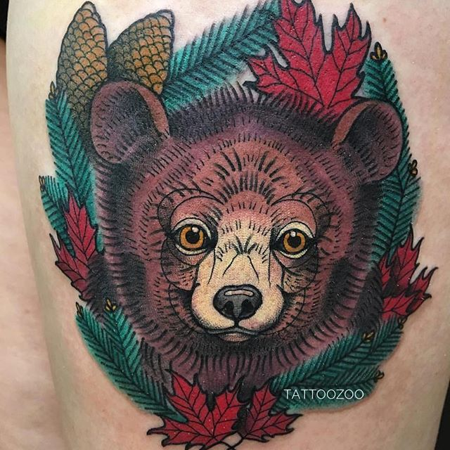 🦁 and and OH MY! @angiedifrantattoos has some free time for walk-ins today!! Call 250-361-1952 or visit us at 826 Fort Street.