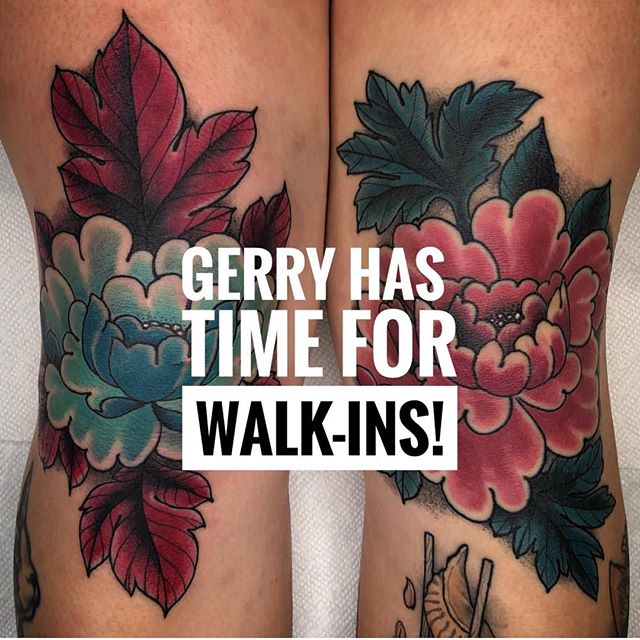 Mr @gerrykramer has had some time open up in his calendar today and will be doing walk-ins!! We are open 11-6pm. Visit us at 826 Fort St and grab some time. 🖤