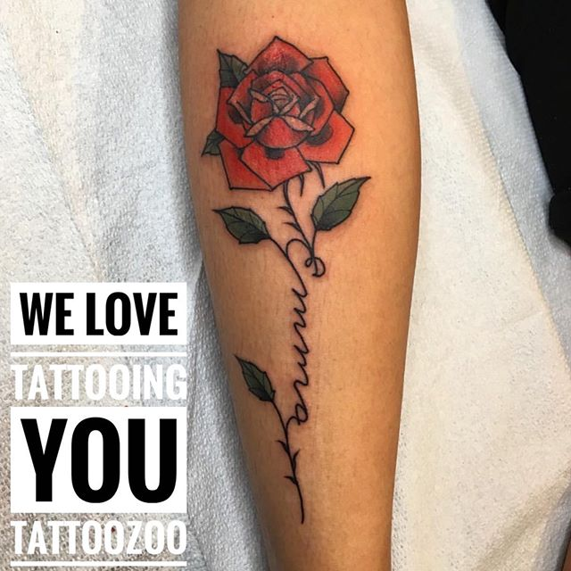 We LOVE tattooing you! ️🧡 Call 250-361-1952 to book a FREE consultation with @angiedifrantattoos