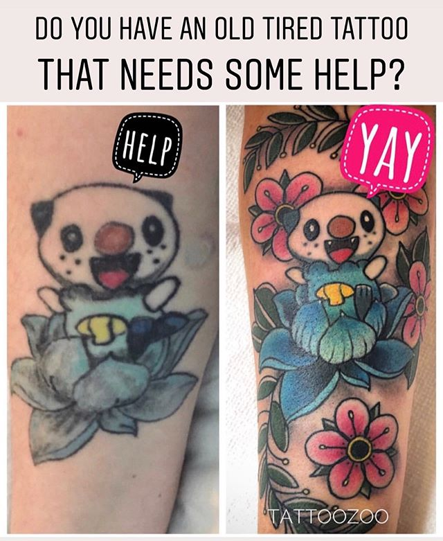 You know how much @gerrykramer loves the challenge of doing cover-up or fix-up tattoos! He is doing consultations ALL DAY today so head down to 826 Fort Street and show him your worst and let's see what he can do with it!! 🤪 Here 12-5pm!!