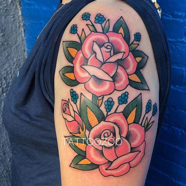 Tattoo by @angiedifrantattoos Call 250-361-1952 to book a FREE consultation.