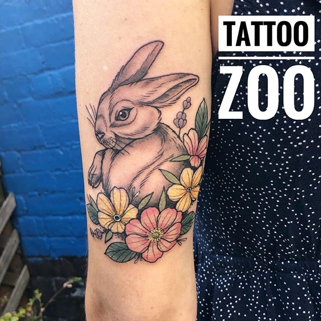 🐇 Tattoo by @interstellarwhispers Call 350-361-1952 to book a FREE consultation.